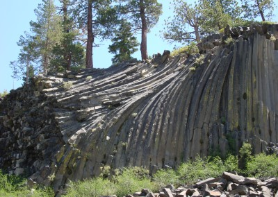 Columnar Basalt Devil's Postpile California