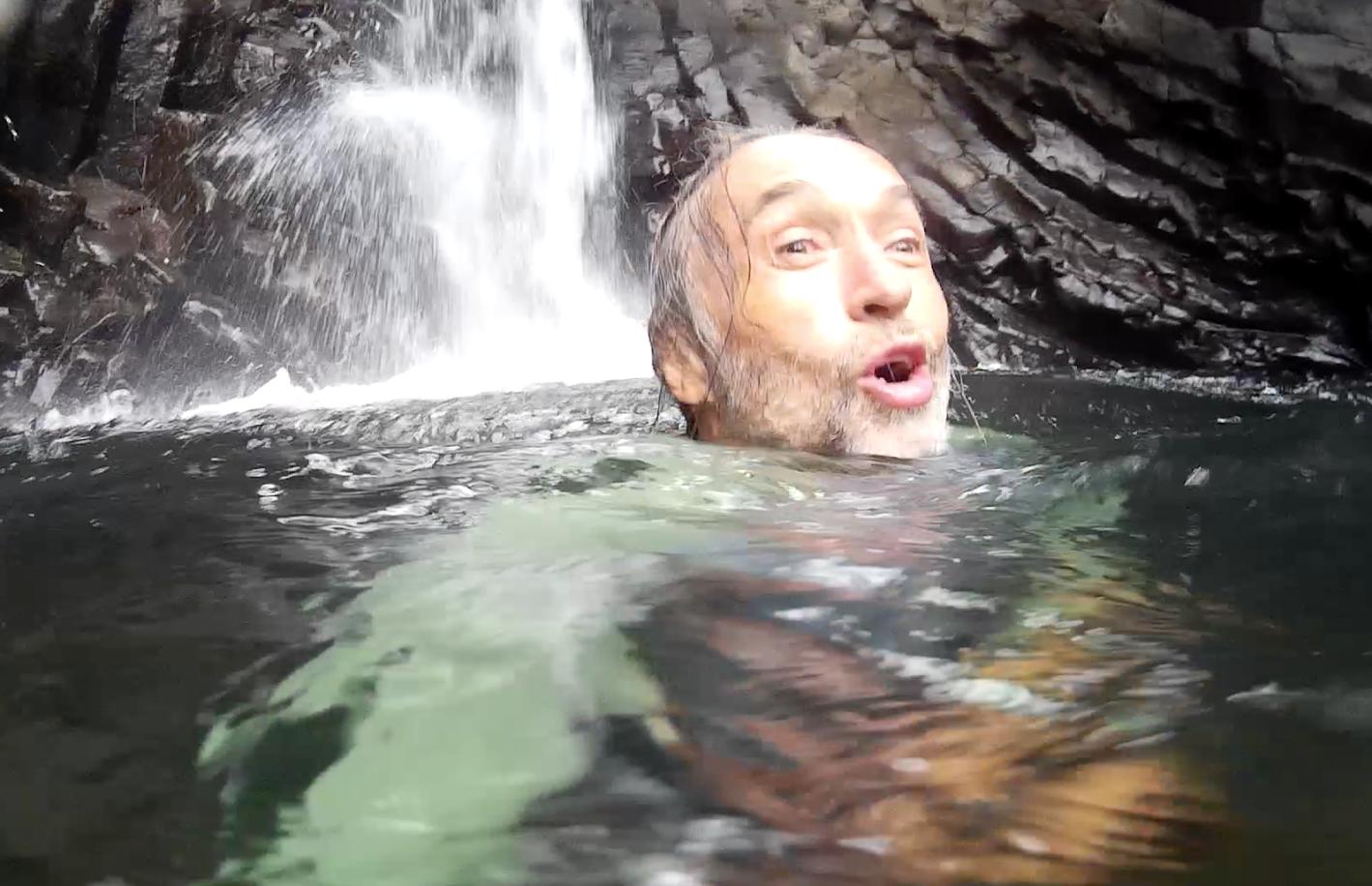 Kirk in Water
